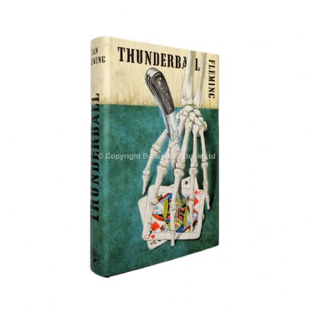 Thunderball by Ian Fleming First Edition Published Jonathan Cape 1961